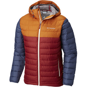 Columbia Powder Lite Hooded Jacket Men Red Element/Bright Copper